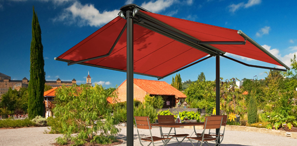 Free Standing Double Sided Awning – Acrylic ...
